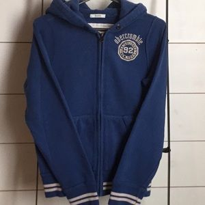 Boys Abercrombie kids sweatshirt size L